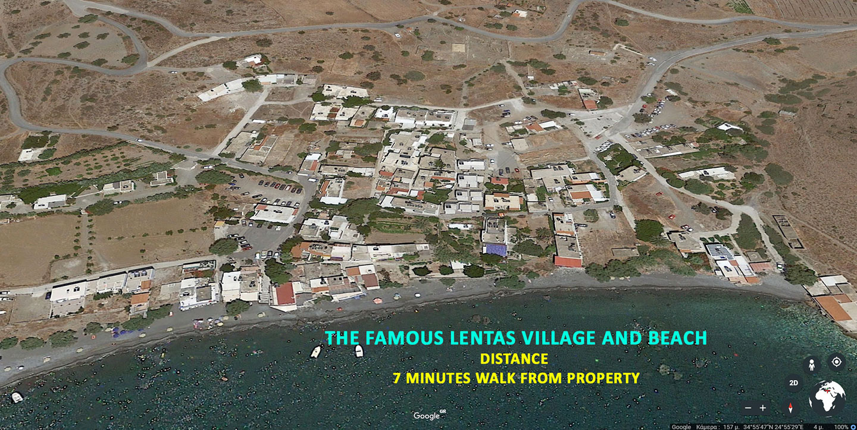 Lentas village south Crete