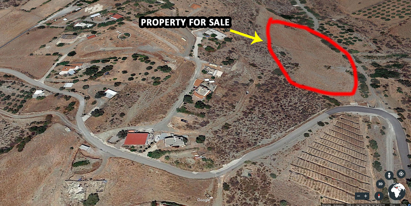 Plot for sale on ledas village Crete