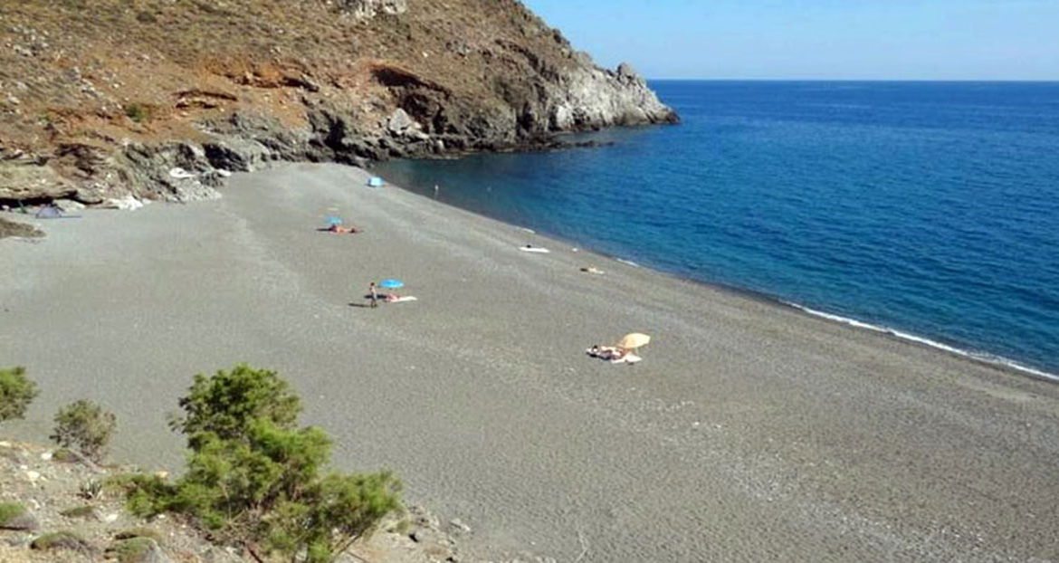 Diskos beach south Crete