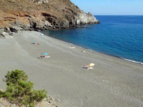 Diskos beach south Crete