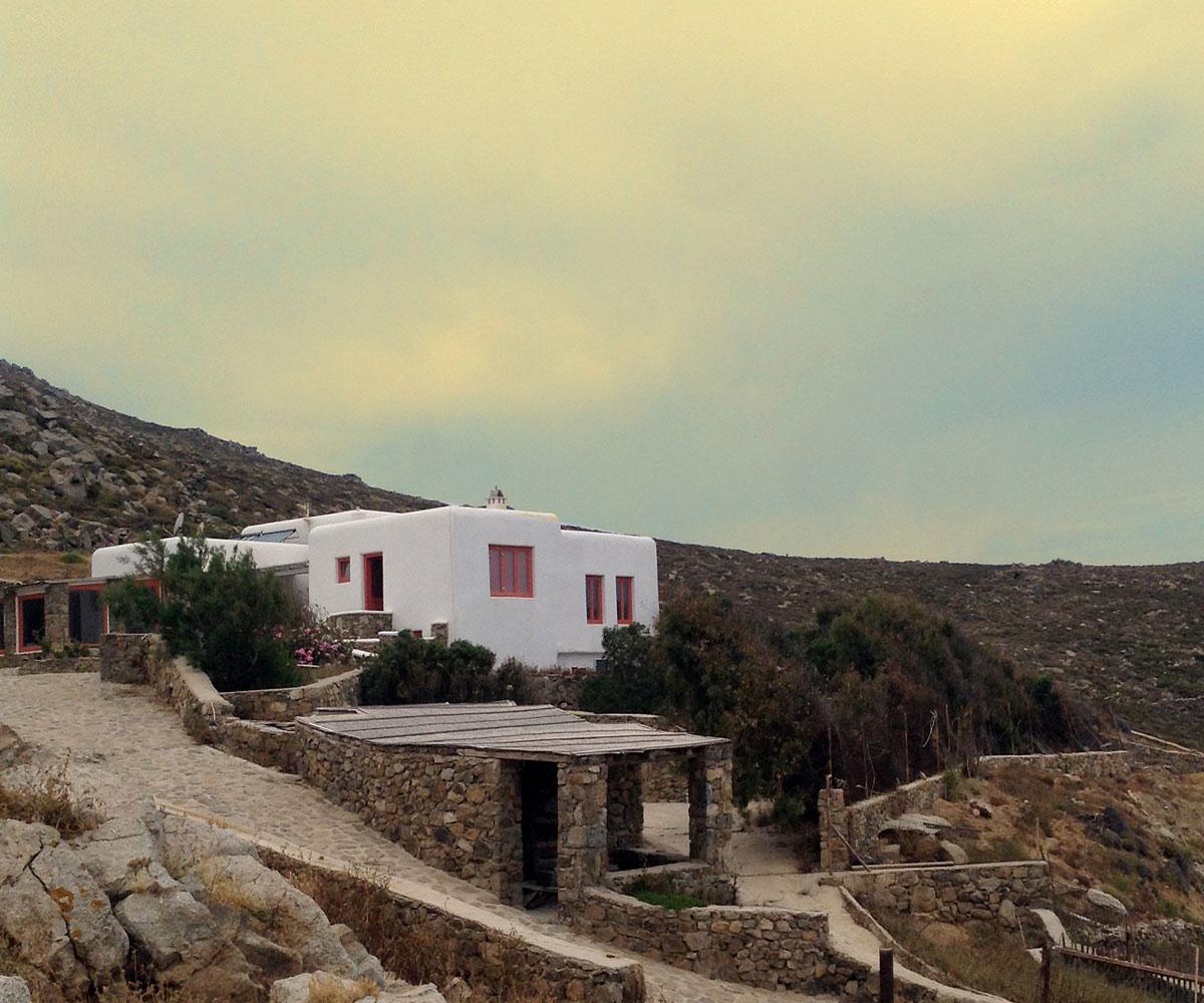 Mykonos Villa by the sea
