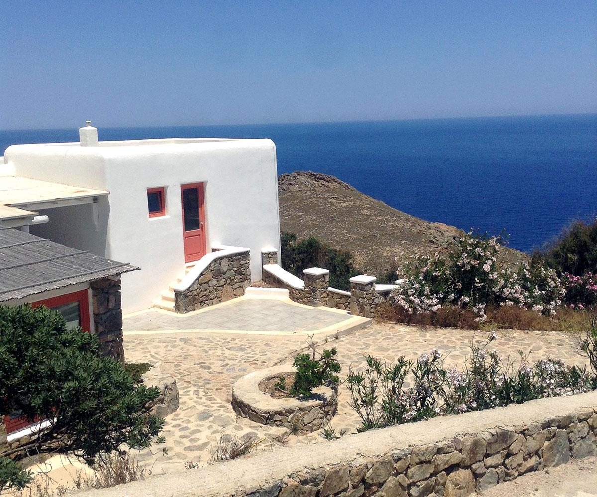 Mykonos villa for party